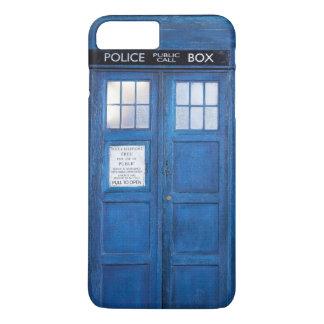 Retro Blue Public Phone Boot iPhone 7 Plus Case
