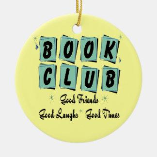 Retro Book Club Ornament - Good Friends