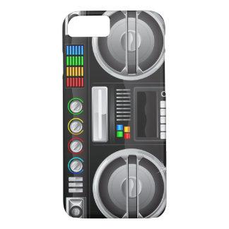 retro boom box ghetto blaster boombox iPhone 8/7 case