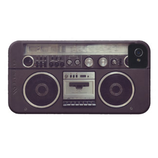 Retro Boombox Cassette Player Funny iPhone4S case iPhone 4 Covers
