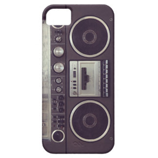Retro Boombox Cassette Player Funny iPhone5 case