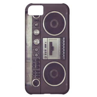 Retro Boombox Cassette Player Funny iPhone5 case iPhone 5C Case