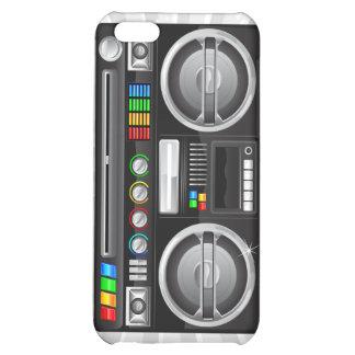 retro boombox ghetto blaster graphic cover for iPhone 5C