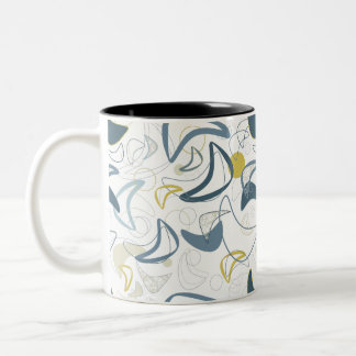 Retro Boomerang! Two-Tone Coffee Mug