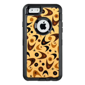 Retro Boomerangs & Starbursts OtterBox Defender iPhone Case