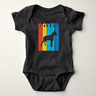 Retro Boxer Baby Bodysuit