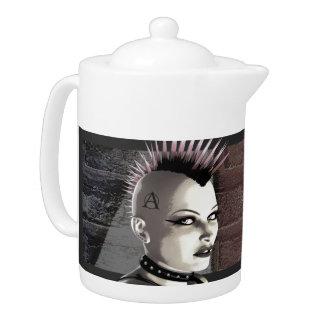 Retro British Punk Teapot