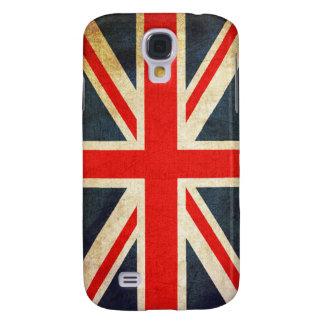 Retro British Union Jack Flag Galaxy S4 Case