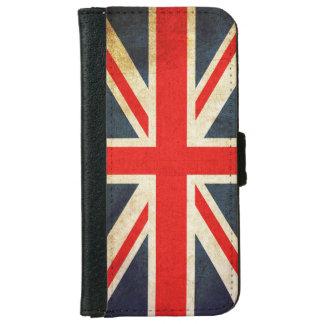 Retro British Union Jack Flag iPhone 6 Wallet Case