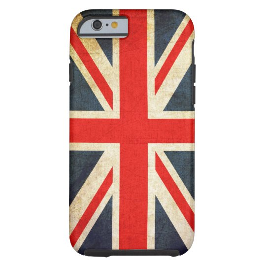 Retro British Union Jack Flag Tough iPhone 6