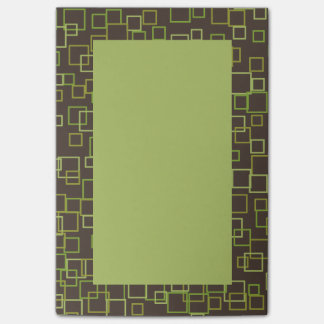 Retro Brown Post It Notes