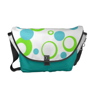 Retro Bubble Messenger Bag
