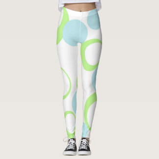 Retro bubbles leggings