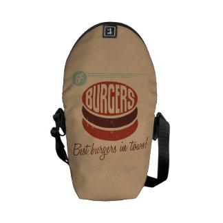 Retro Burger Commuter Bag