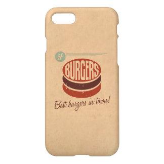 Retro Burger iPhone 7 Case