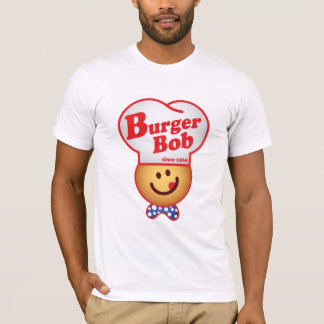 Retro Burger Joint - Burger Bob Vintage T-Shirt
