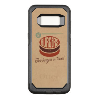 Retro Burger OtterBox Commuter Samsung Galaxy S8 Case