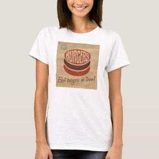 Retro Burger T-Shirt