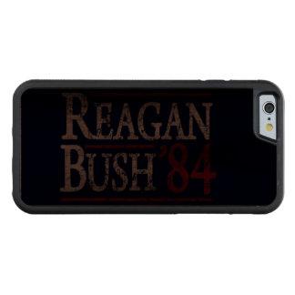 Retro Bush Reagan 84 Election Walnut iPhone 6 Bumper