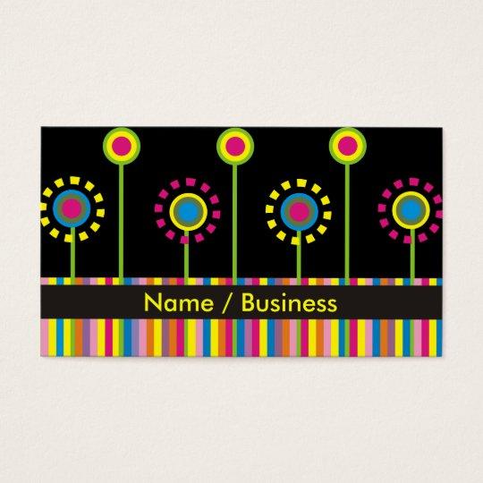 Retro Business Cards. Business Card