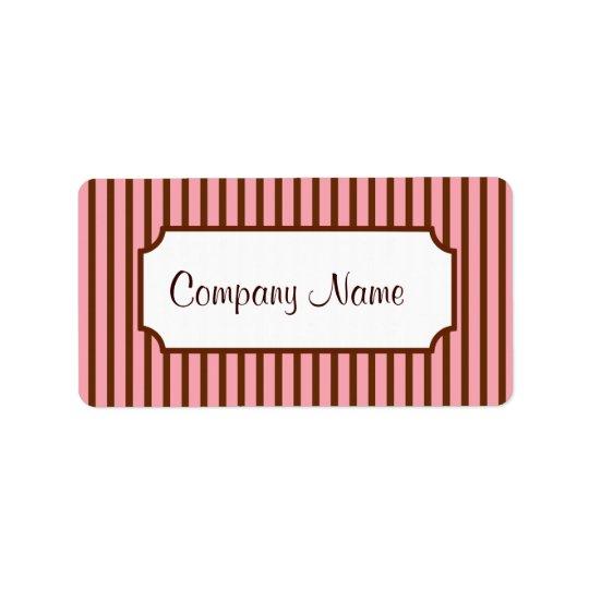 Retro Business Labels