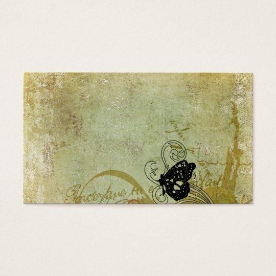 Retro butterflies Business Card