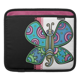 Retro Butterfly iPad Sleeves
