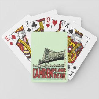 Retro Camden Pilsner Beer Deck of Cards