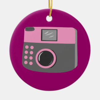 Retro Camera Christmas Ornament