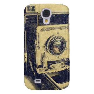 Retro  Camera Design iPhone Cases Galaxy S4 Case