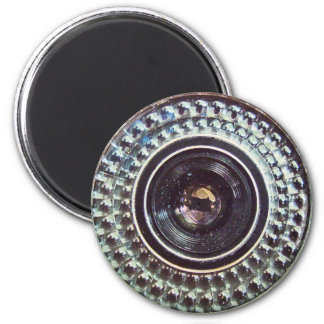 Retro camera fridge magnets