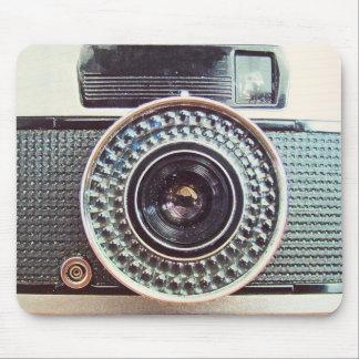 Retro camera mouse mat