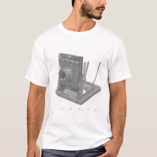Retro camera shirt for guys and men