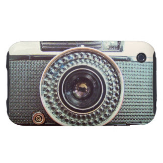 Retro camera tough iPhone 3 case