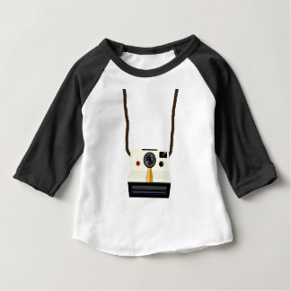 retro camera with strap baby T-Shirt
