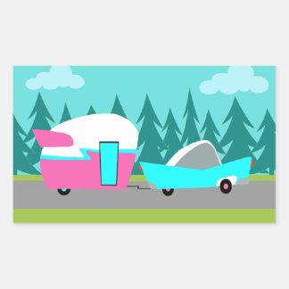 Retro Camper / Trailer and Car Stickers