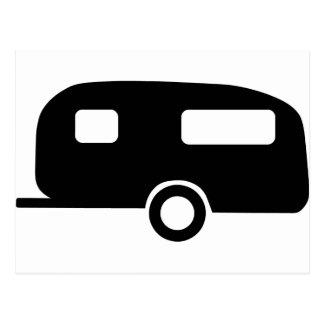Retro Caravan Postcard