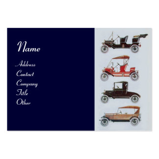 RETRO CARS 2- Auto repairs, automotive Pack Of Chubby Business Cards