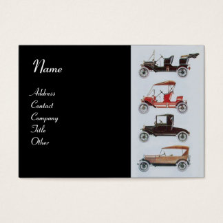 RETRO CARS 2- Auto repairs, automotive Business Card