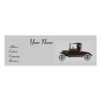 RETRO CARS 2- Auto repairs, automotive Pack Of Skinny Business Cards
