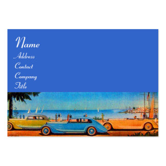 RETRO CARS - Auto repair automotive Business Card Template