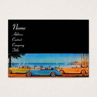 RETRO CARS - Auto repair automotive Business Card