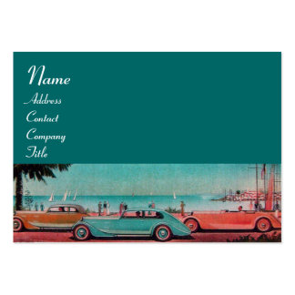RETRO CARS - Auto repair automotive Pack Of Chubby Business Cards