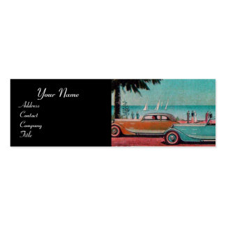 RETRO CARS - Auto repair automotive Pack Of Skinny Business Cards