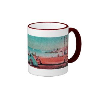 RETRO CARS COFFEE MUGS