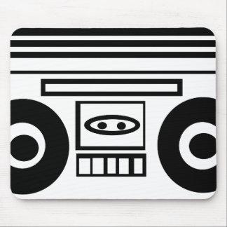 Retro-Cartoon BoomBox Mousepad