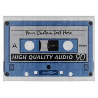 Retro Casette Tape custom cutting board