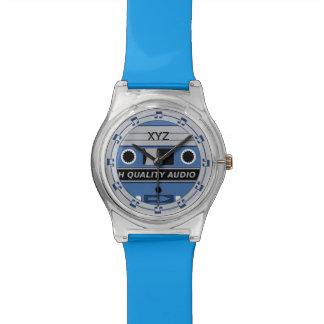 Retro Casette Tape custom watches