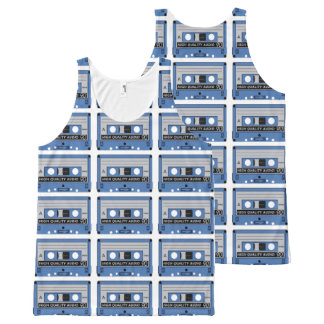 Retro Casette Tape tanktop All-Over Print Tank Top