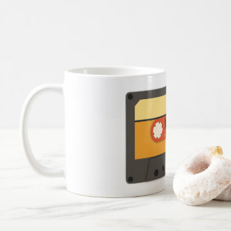 Retro cassette mug